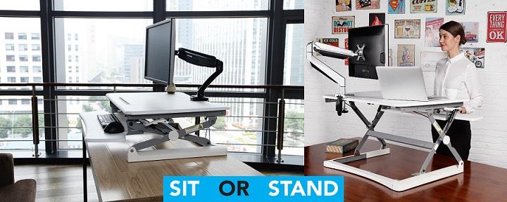 Rapid Riser Height Adjustable Sit/Stand Desktop Brochure PDF (Click to download)